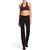 Legging FIT+ 500 regular Gym & Pilates femme noir