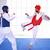 Casque arts martiaux blanc