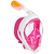 Masque de snorkeling en surface Easybreath rose