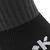 Chaussette de football enfant F500 noire et grise