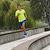 SHORT RUNNING HOMME RUN DRY BLEU
