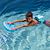 Ceinture de natation enfant avec pains de mousse bleus