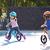 Draisienne enfant 10 pouces RunRide 500 Bleu et Rose
