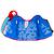 Gilet de natation bleu-rouge
