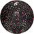 Ballon de football Hardground taille 5 noir vert rose