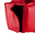 CASQUE DE BOXE OUVERT ENTRAINEMENT ET COMPÉTITION ROUGE