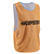 CHASUBLE ADULTE RÉVERSIBLE MULTISPORT BLEUE ORANGE