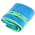 Serviette microfibre bleue ultra compacte taille S 42 x 55 cm